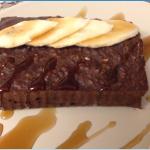 [סרטון] עוגת חלבון בטעם שוקולד בננה
